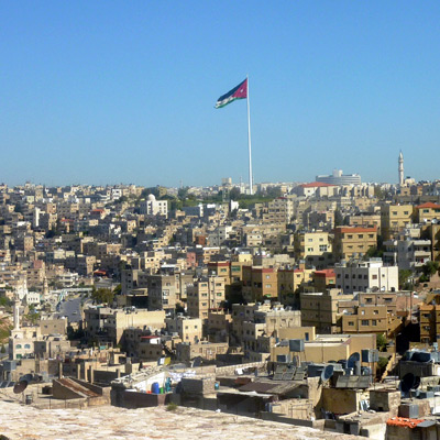 Amman City - seen on our Israel & Jordan adventure.