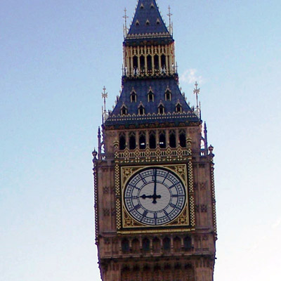 Big Ben, London - seen on Grand Tour of Europe Plus and British Isles.