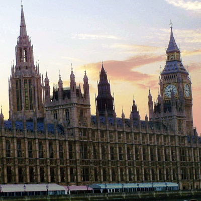 Parliament and Big Ben - seen on our Grand Tour of Europe Plus and British Isles tours.
