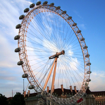London Eye - seen on our Grand Tour of Europe Plus and British Isles tour.